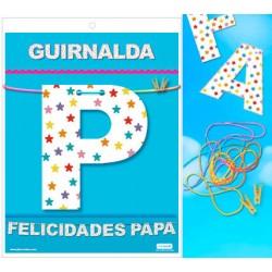 GUIRNALDA FELICIDADES PAPA...