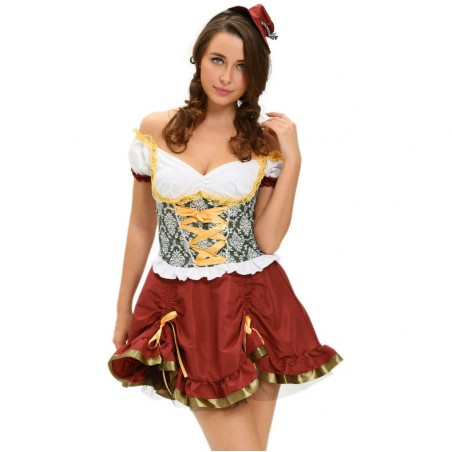 QUEEN COSTUME OCTOBERFEST...