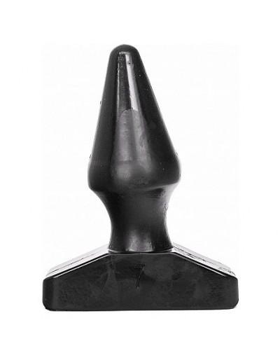 ALL BLACK PLUG ANAL 16CM