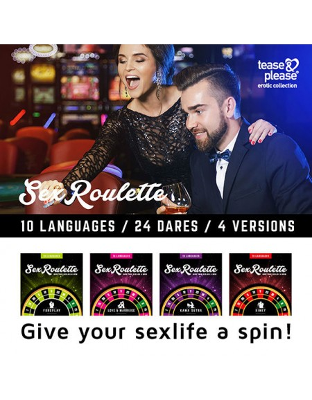 SEX ROULETTE FOREPLAY...