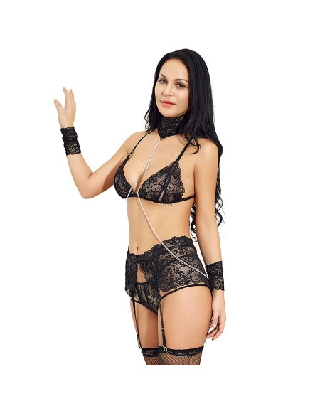 QUEEN LINGERIE SET DE...