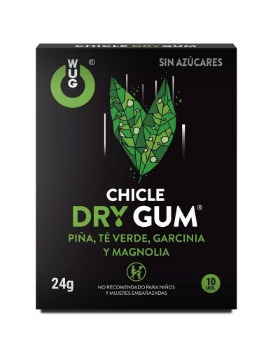 WUG CHICLE DRY GUM 10DS