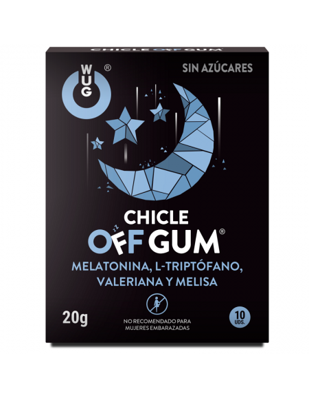 WUG CHICLE OFF GUM 10UDS