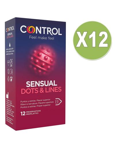 CONTROL PACK 12 UDS SENSUAL...