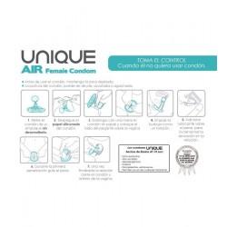 UNIQ AIR CONDOM FEMENINO 3 UDS